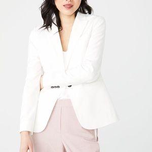 RW&Co White Suit Jacket